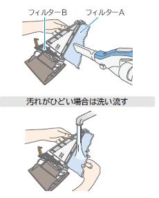 フィルター清掃 2 - ビックドラム BD-V1