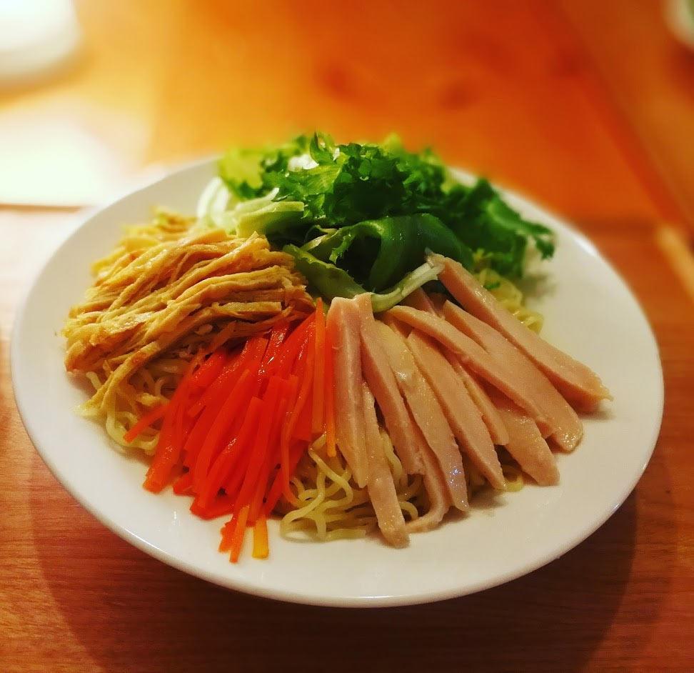 Huawei Mate 9 ワイドアパーチャ撮影 - 料理 冷やし中華