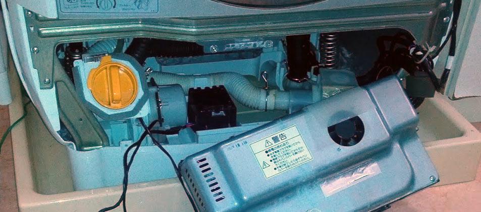 正面下側カバー取り外し - ビックドラム BD-V1