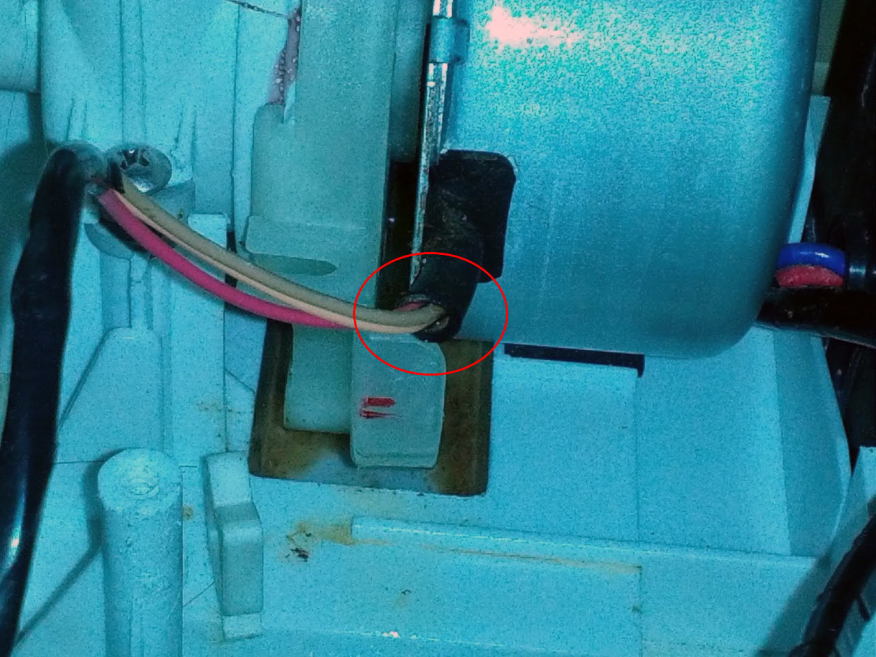 循環ポンプ水漏れ - ビックドラム BD-V1