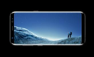 Galaxy S8 エッジディスプレイ - Samsung サイトから転載