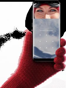 Galaxy S8 虹彩認証 -Samsung サイトから転載