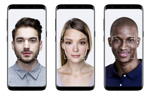 Galaxy S8 顔認証 - Samsung サイトから転載