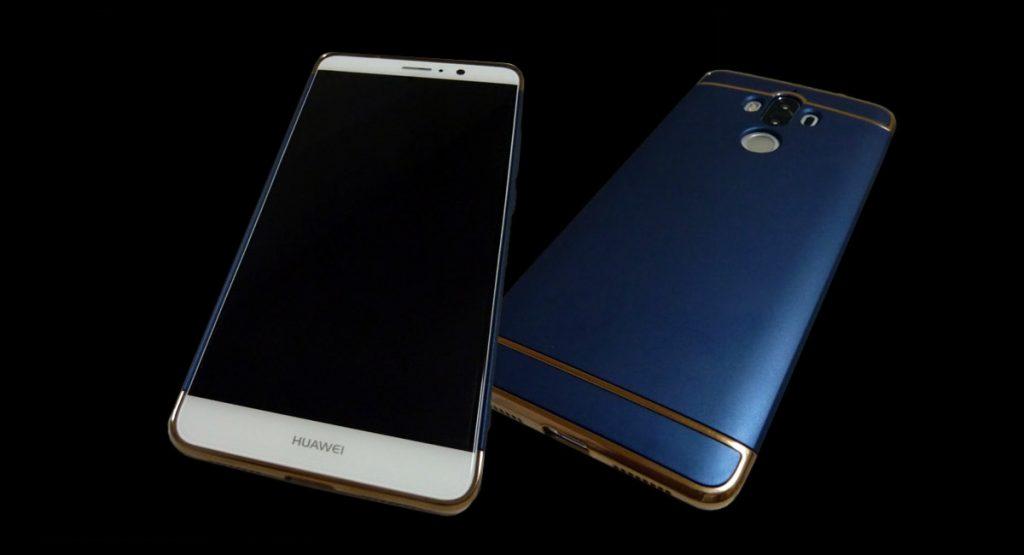 Huawei Mate 9 - カバー装着例
