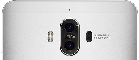 Huawei Mate 9 デュアルカメラ - Huaweiサイトから転載